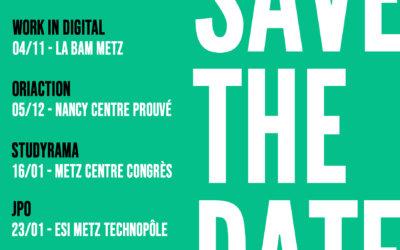 Save the date : salons et évènements ESI