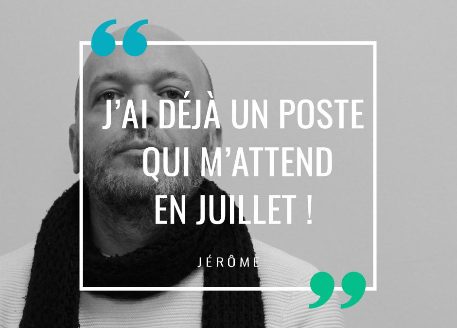 Vous avez la parole : Jérôme, étudiant TAI 2020-2021